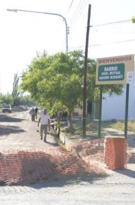 HORMIGONADO DE CALLE ABRAHAM, EN BARRIO ISIDORO BOUSQUETS