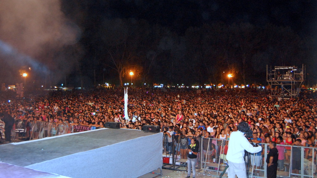 30 mil personas presentes