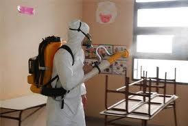Junín: iniciaron los operativos de desinfección en escuelas y jardines maternales