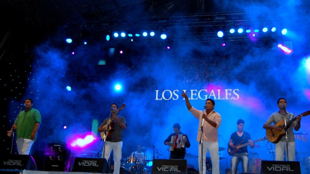 Los Legales - Foto: Mayra Pereira.-
