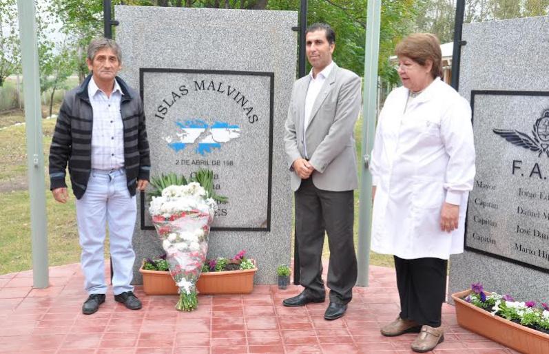 La Paz homenajeó  a los Caídos en Malvinas