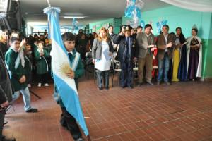 Acto de Promesa de Lealtad a la Bandera en La Paz