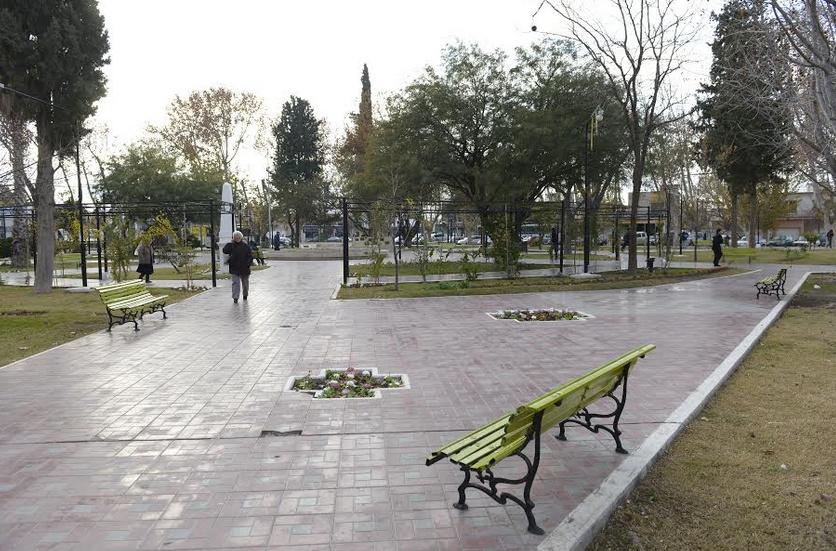 Junín embellece sus parques y plazas