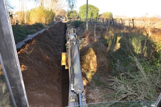 Se amplía la red de Gas Natural en el distrito de Santa María de Oro