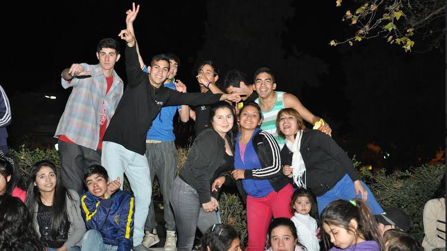 La Paz celebró la amistad en la Plaza 9 de Julio