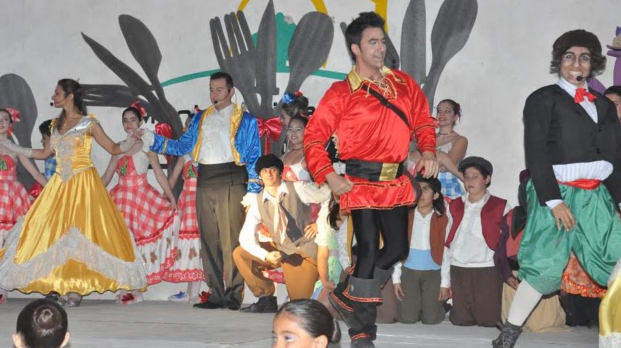 Actores paceños cautivaron la público de La Paz