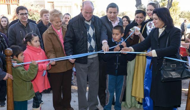 Santa Rosa inauguró un SUM y un paseo cultural en homenaje a Leonardo Favio