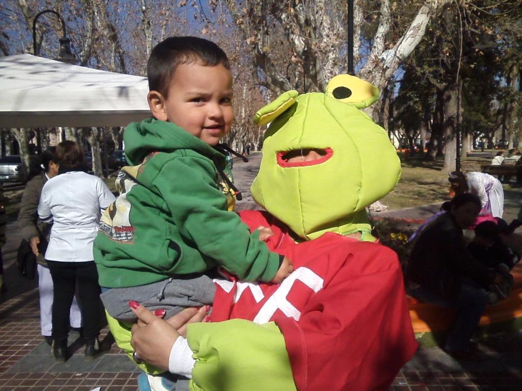 Salud de Rivadavia agasajó a los niños en su día