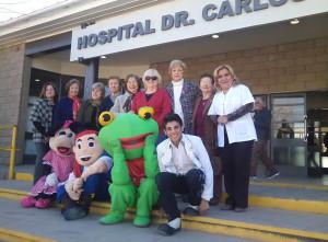 La Cooperadora del Hospital Saporiti sorprendió a niños y grandes