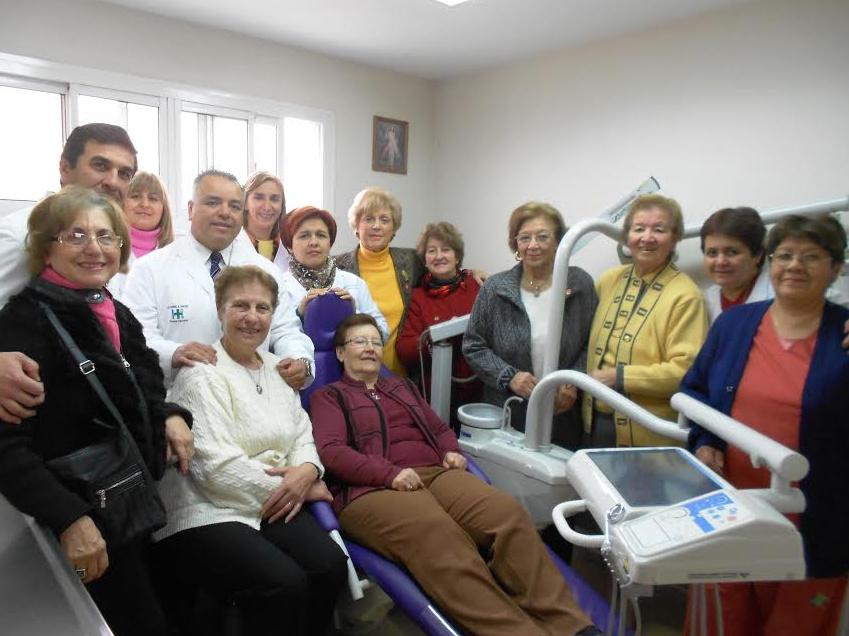 Instalan un nuevo sillón odontológico en el Hospital Saporiti