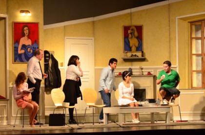 Éxito de TOC-TOC en el Teatro Ducal