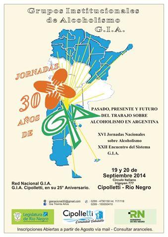 El GIA del Hospital Saporiti se sumará a las Jornadas Nacionales de Alcoholismo en Río Negro