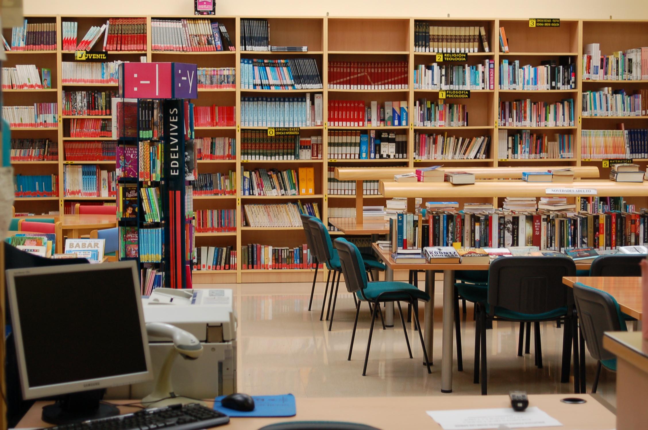 Notieste el portal de noticias en la zona este de for Partes de una biblioteca