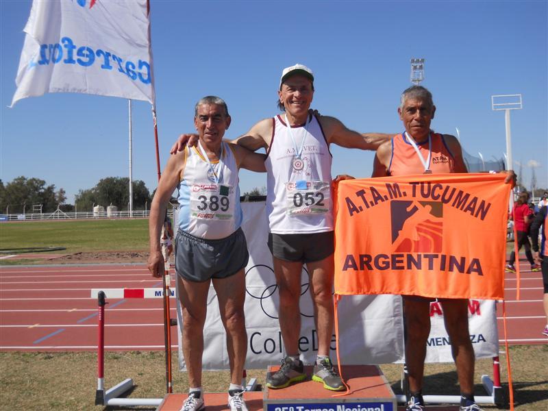 Campeonato Argentino de Atletismo - Mundialito 1.500 mts. 1ro. 14-09-2014 (Mediana)