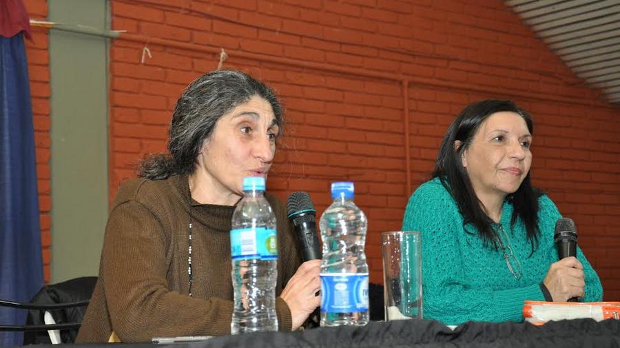 las Profesoras Paula Tejada y Viviana Gazzo
