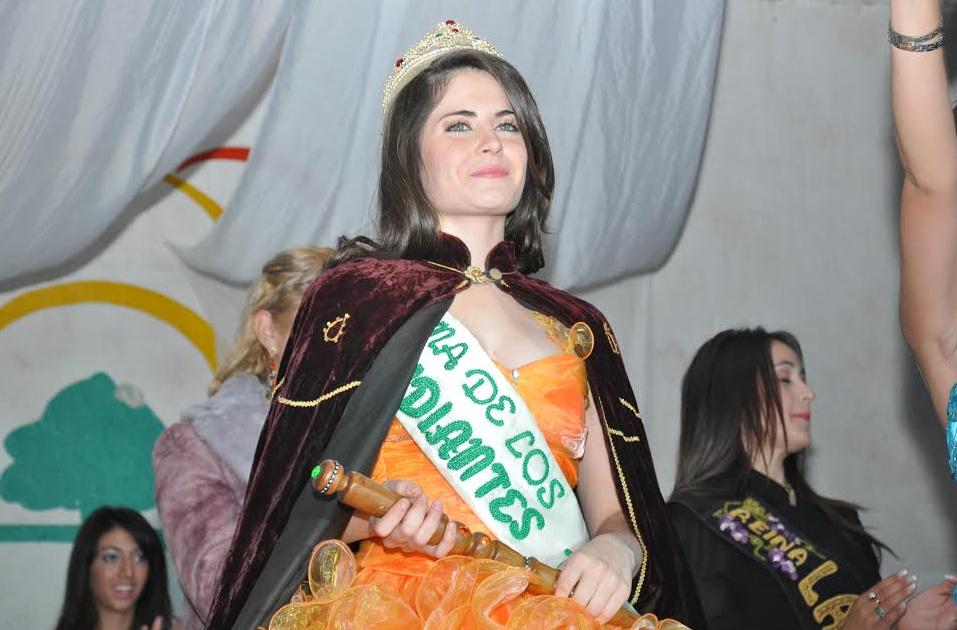 Antonella negri es la reina departamental de los estudiantes 2014