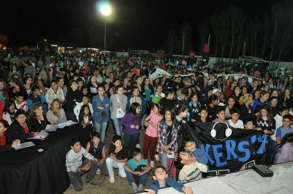 La Paz disfrutó de la Estudiantina 2014