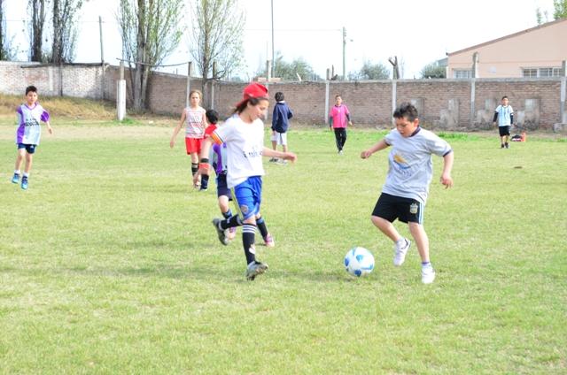 Andrade vivió un día de integración y deporte