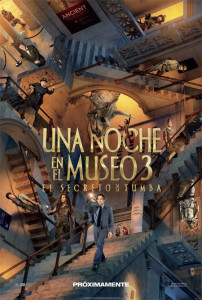 AFICHE UNA NOCHE EN EL MUSEO