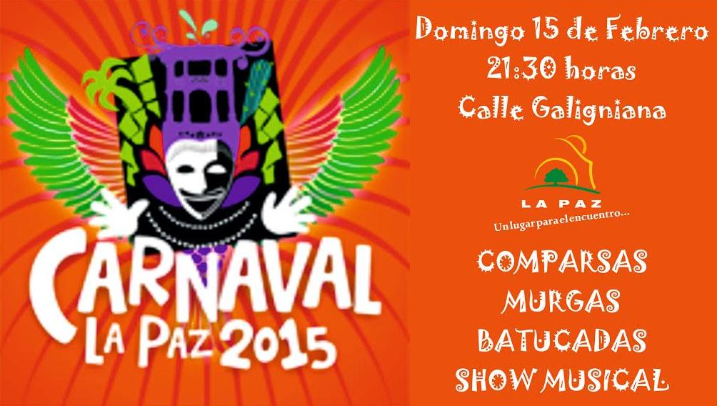 En La Paz se palpita el clima de Carnaval