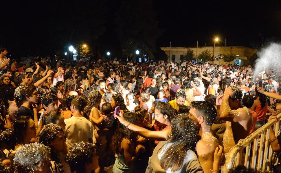 Una gran fiesta de Carnaval se vicvó en La Paz