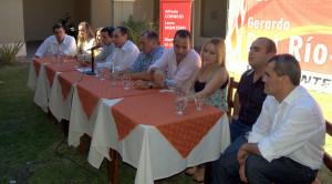 Gerardo Del Rio lanzó su precandidatura - Foto: Mayra Pereira.-