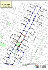 maraton aniversario mapa