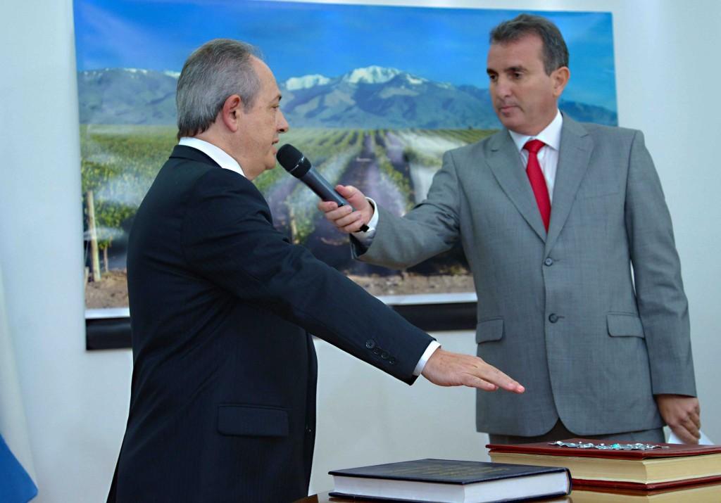 Acto de Asuncion del nuevo Ministro de salud  Dr. Oscar Renna.