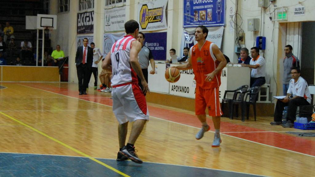 "Fernando ""Hueso"" Ronco - CDR vs Estudiantes de La Plata - Foto: Mayra Pereira.-"