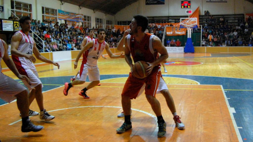 Federico Pérez Da Rold - CDR vs Estudiantes de La Plata - Foto: Mayra Pereira.-