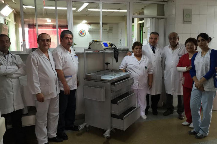 equipamiento Hospital