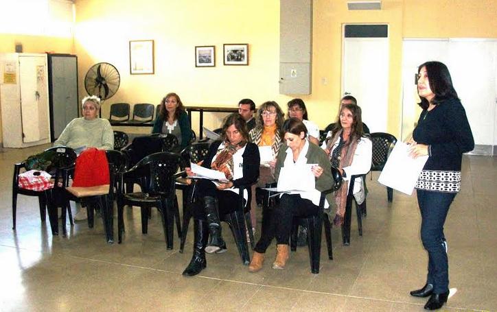 Importante reunión de Epidemiologia en el Hospital Dr. Carlos Saporiti