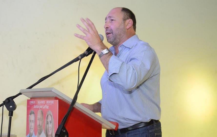 GUSTAVO PINTO Y ALFREDO CORNEJO CONVOCARON A UNA MULTITUD EN LA PAZ