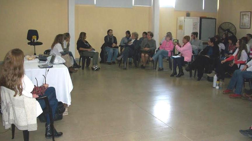 La Campaña Nacional Ni Una Menos estuvo presente en el Hospital Saporiti