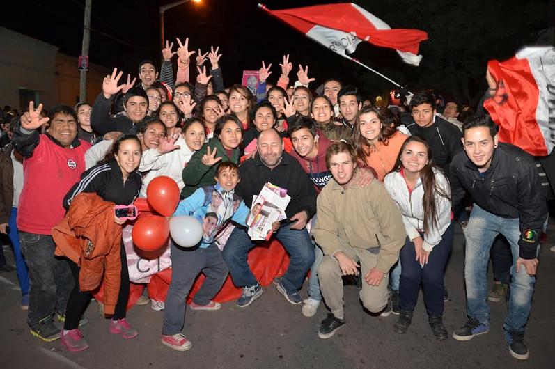 Gustavo Pinto se impuso cómodamente en La Paz