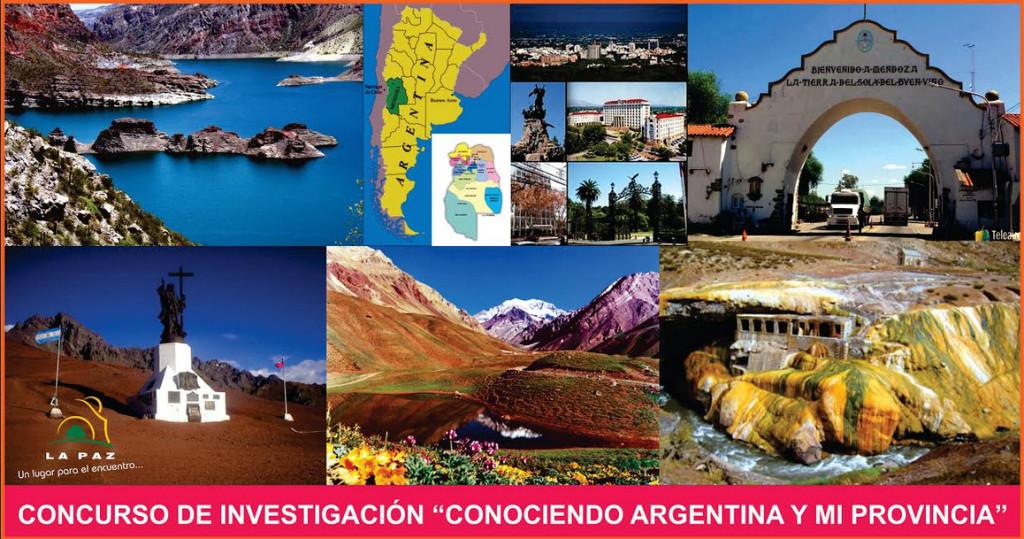 """CONCURSO DE INVESTIGACIÓN """"CONOCIENDO ARGENTINA Y MI PROVINCIA"""""""