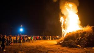 Se realizaron en Junín los tradicionales fogones de San Pedro y San Pablo
