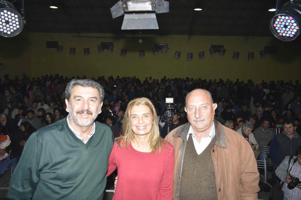 Ricardo Mansur, Laura Montero y Miguel Ronco