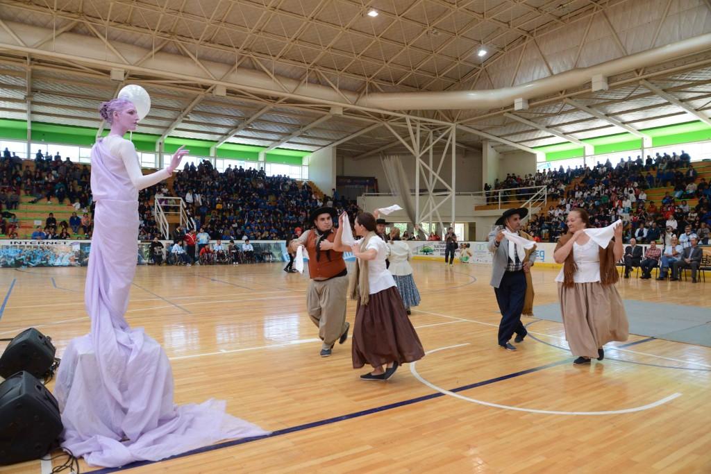 Ministerio de Deportes - Lanzamiento Juegos Evita 2015