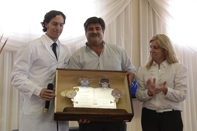 Roger Zaldivar, Mario Abed y Valeria Romoli