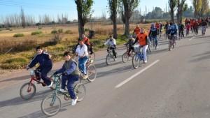"""Se viene otra mega bicicleteada """"Por Amor a Vos"""" en Rivadavia"""