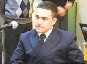 El Concejo Deliberante de Junín reconoció a un cadete de la Armada Argentina