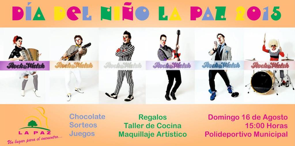 los chicos de La Paz celebraran su día a lo grande
