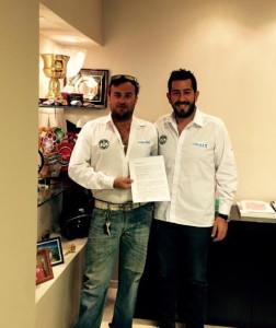 Horacio Moreno y Abdo Girala