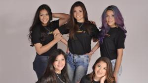 Cinco bellas jóvenes sueñan con ser Reina de los Estudiantes La Paz 2015