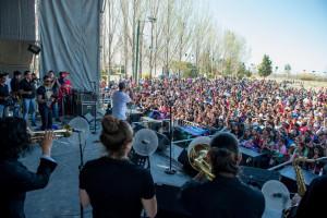 Una multitud recibió la Primavera en Junín
