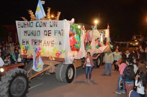 Finalizó con éxito la Estudiantina La Paz 2015