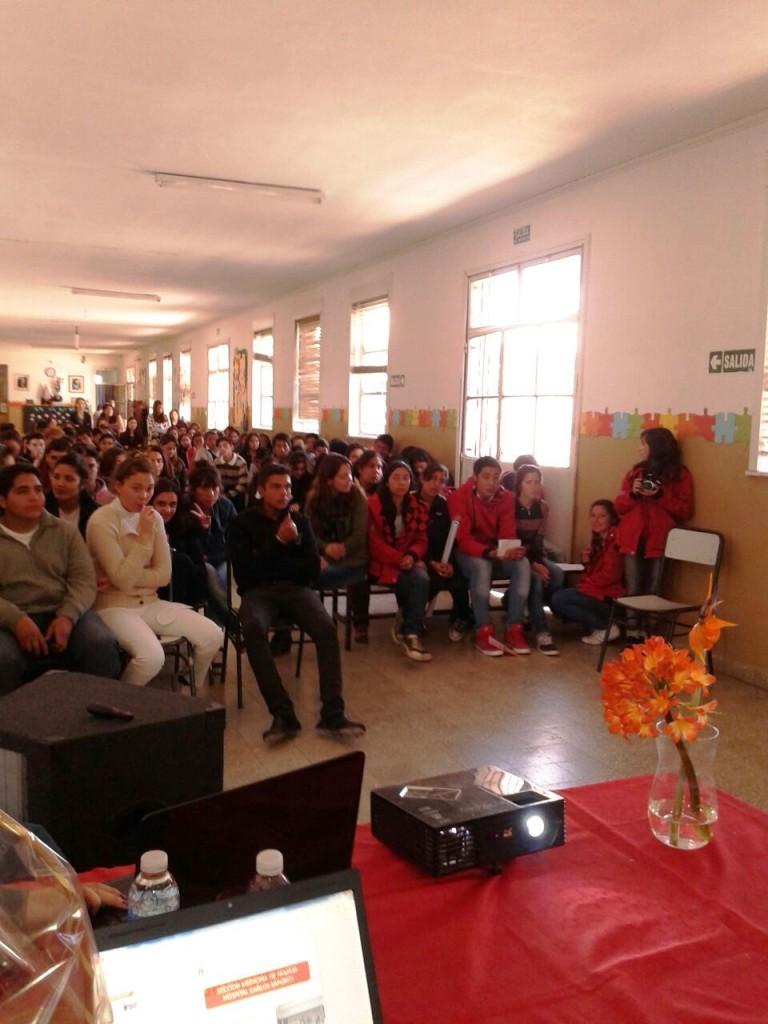 Taller de Abordaje Integral del Adolescente en la escuela Prof. Patricia Prades