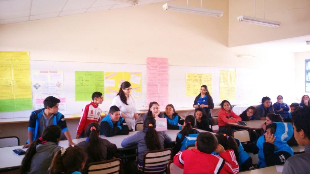 Nuevos talleres de Salud Adolescente en las escuelas Vieytes y Tittarelli