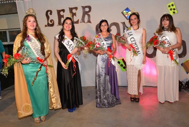Reinas San Isidro La Central 2015